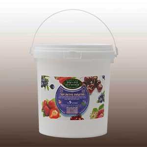 """מרקחת פירות יער(בד""""צ) 50% פרי"""