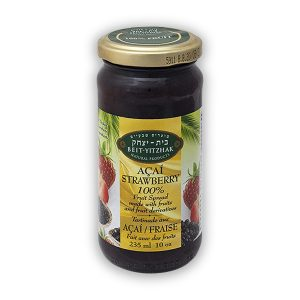 Açaí-Strawberry 100% Fruit Spread  No Cane Sugar – Super Fruit