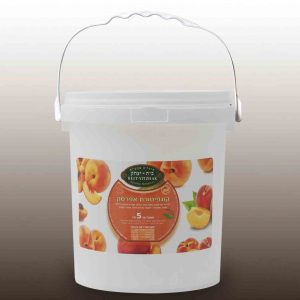 Peach jam 50% fruit